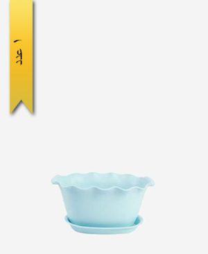 گلدان ساحل دسته دار سایز 3 کد 1664 - لیمون