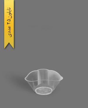 ظرف دسری 220cc ویانا سه گوش - ظروف یکبار مصرف کوشا
