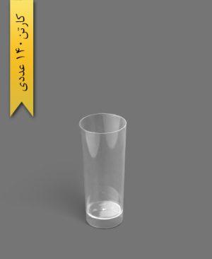 لیوان دسری اسموتی 300cc شفاف - ظروف یکبار مصرف کوشا