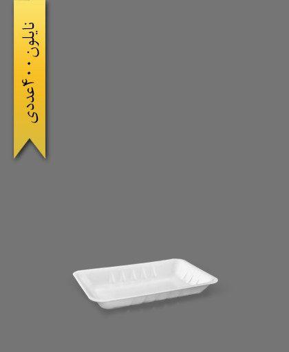 دیس گلایل سفید 1361 - ظروف یکبار مصرف پارت نگین