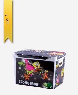جعبه و باکس همه کاره بزرگ چاپدار کد 446 - لیمون