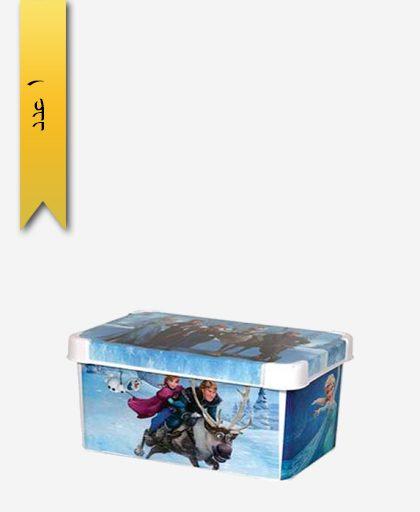 جعبه و باکس همه کاره متوسط چاپدار کد 1545 - لیمون