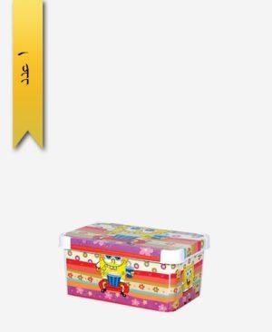 جعبه و باکس همه کاره کوچک چاپدار کد 442 - لیمون
