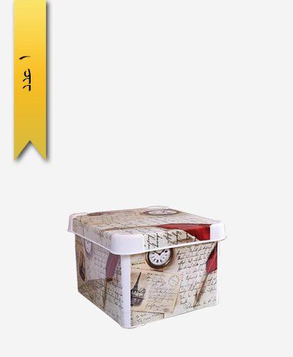 جعبه و باکس همه کاره متوسط چاپدار کد 145400 - لیمون