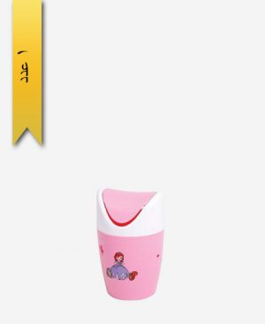 سطل کاغذ رویزی کوچک کد 147404 - لیمون