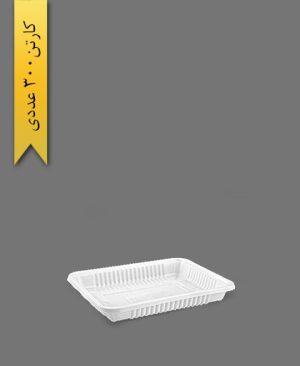 دو پرس کوتاه سفید - ظرف یکبار مصرف تاک واریان