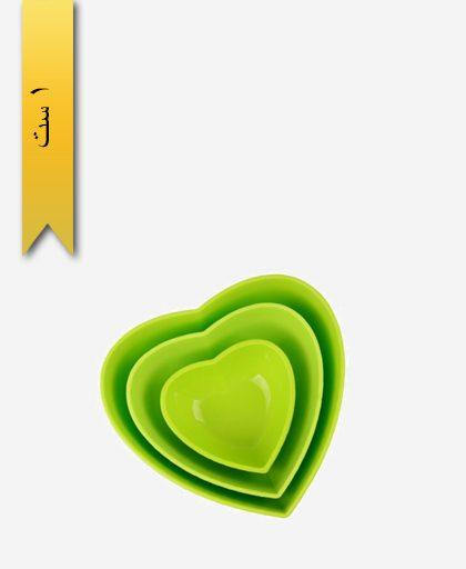 ست کاسه قلبی کد 32143 - زیبا