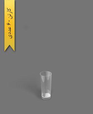 لیوان دسری اسموتی 650cc شفاف - ظروف یکبار مصرف کوشا