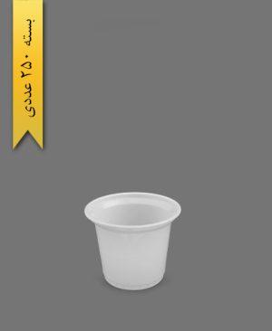 سطل ماستی شیری 1500cc - سطل یکبار مصرف احدی