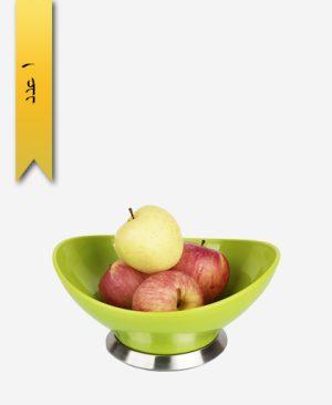 کاسه میوه خوری پایه استیل سایز2 کد 33018 - زیبا