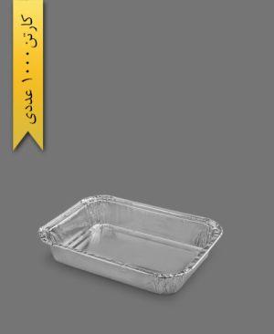 ظرف آلومینیومی هواپیمایی کد 104 - ظرف یکبار مصرف پارسه