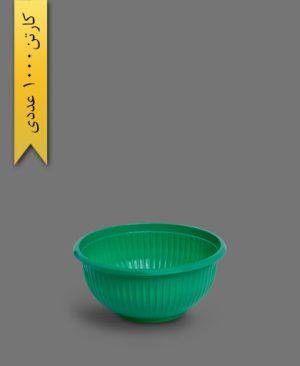 کاسه صدفی 350 رنگی - ظروف یکبار مصرف تک ظرف
