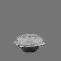 ظرف سالاد سزار خورشیدی با درب – صنایع پلاستیک خوزستان (کارتن 100 عددی)