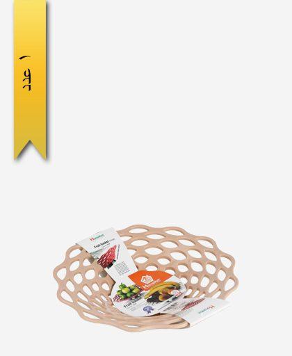 سبد میوه پایه استیل بزرگ کد 3724 - هوم کت homeket