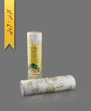 سفره کاغذی عرض 120 - سفره یکبار مصرف طب پلاستیک