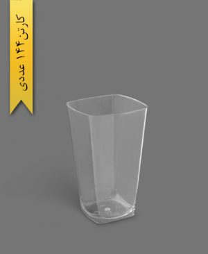 لیوان روشا 500cc شفاف - ظروف یکبار مصرف برنا