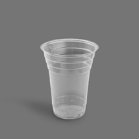 لیوان آیس پک 450 شفاف – آذران ورق ( کارتن 1000 عددی )