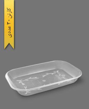 ظرف پیرکس کبابی بزرگ کد 367 - ظروف یکبار مصرف کوهسار