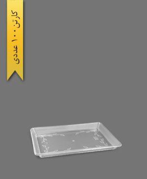 سینی مسطتیل کوچک کد 841 - ظروف یکبار مصرف کوهسار