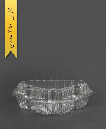 ظرف سه گوش - ظروف یکبار مصرف پارس پلاستیک