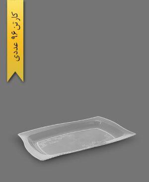 دیس شفاف VIP - ظروف یکبار مصرف کوهسار