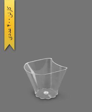 دسری پا فیلی کد 101 - ظروف یکبار مصرف کوهسار