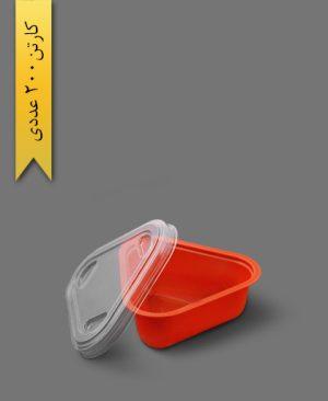 سسی کاپ مثلثی رنگی با درب - ظرف یکبار مصرف ام پی