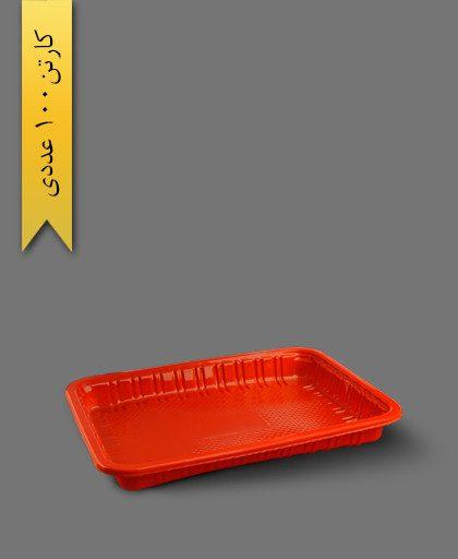 ظرف تک خانه کد 301 قرمز - ظرف یکبار مصرف ام پی