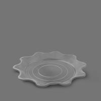 بشقاب خورشیدی 1500 شفاف – ام پی ( کارتن 250 عددی )