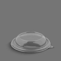 درب ساده ظرف سالاد سزار شفاف – ام پی (کارتن 200 عددی)