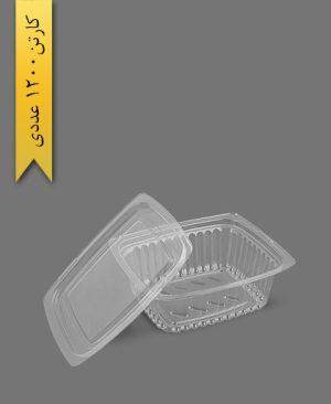 دلی 500 با درب- ظروف یکبار مصرف به ظرف