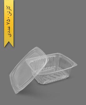 دلی 100 شفاف - ظروف یکبار مصرف به ظرف