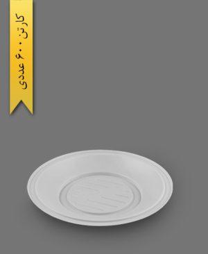 بشقاب بزرگ سفید - ظرف یکبار مصرف به ظرف