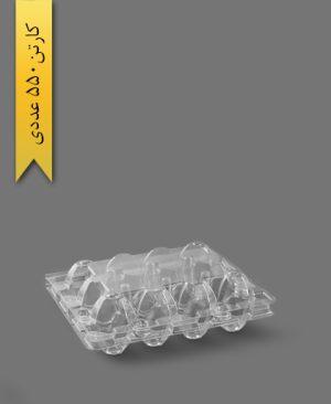شانه تخم بلدرچین 12 خانه - ظروف یکبار مصرف تاک واریان