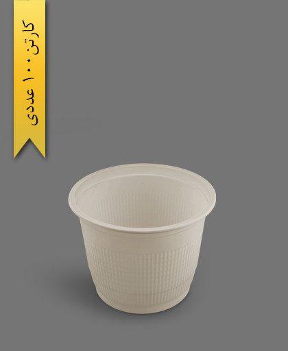 سطل 1300 استوانهای گیاهی - ظروف گیاهی یکبار مصرف آملون