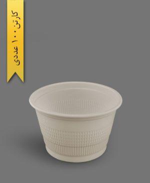 سطل 2500 گیاهی - ظروف گیاهی یکبار مصرف آملون