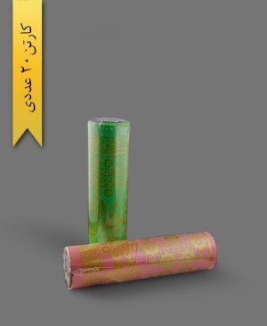 سفره 12 متری طلاکوب - محصولات یکبار مصرف پایدار پلاستیک