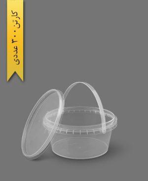سطل ماکروویو 750cc - ظروف یکبار مصرف پولاد پویش