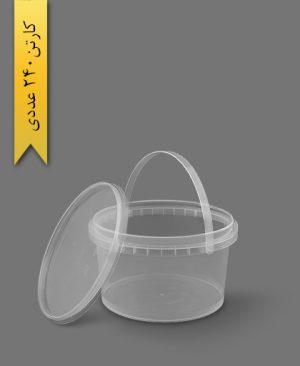 سطل ماکروویو 900cc - ظروف یکبار مصرف پولاد پویش