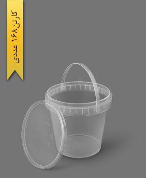 سطل ماکروویو 1500cc - ظروف یکبار مصرف پولاد پویش