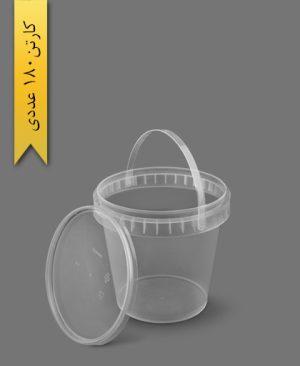سطل ماکروویو 1400cc - ظروف یکبار مصرف پولاد پویش
