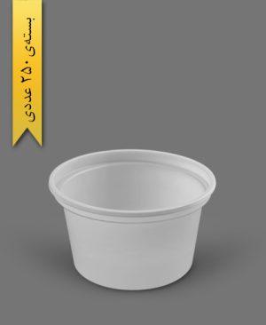 سطل ماستی 900cc - ps - 15gr - ظروف یکبار مصرف پیشگامان