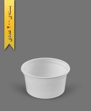 سطل ماستی 500cc - ps - 10gr - ظروف یکبار مصرف پیشگامان