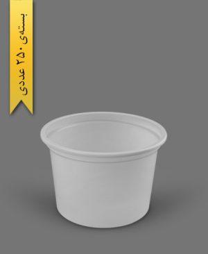 سطل ماستی 1200cc - ps - 16gr - ظروف یکبار مصرف پیشگامان
