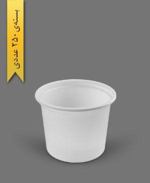 سطل ماستی 1350cc - ps - 17gr - ظروف یکبار مصرف پیشگامان