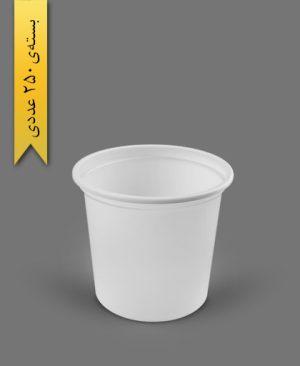 سطل ماستی 1700cc - ps - 22gr - ظروف یکبار مصرف پیشگامان