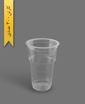 لیوان مکدونالد 500cc - ظروف یکبار مصرف تاب فرم
