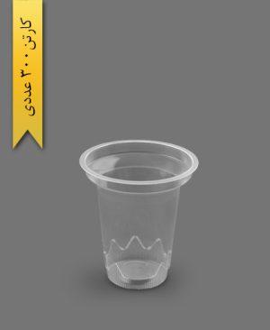 لیوان دوغی شفاف - ظروف یکبار مصرف تاب فرم