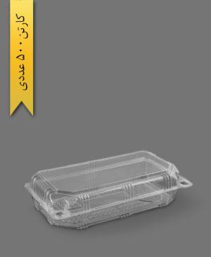 لانچ باکس کوتاه اکونومی - ظروف یکبار مصرف تاب فرم