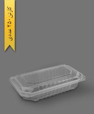 لانچ باکس کوتاه زیپ دار - ظروف یکبار مصرف پریما